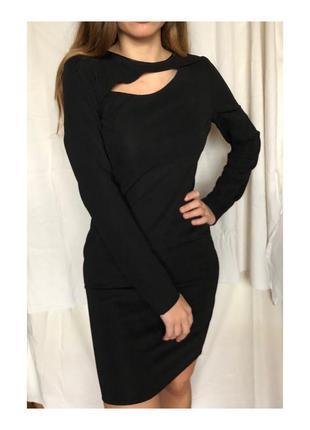 Чёрное вечернее,деловое платье