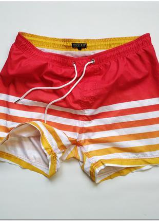 Мужские пляжные шорты-плавки review