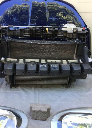 Авторазборка Fiat 500X Cross б/у запчасти радиаторы фары бампер