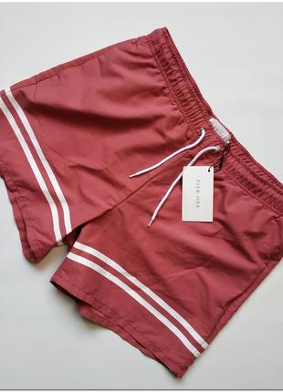 Мужские пляжные шорты-плавки pier one pink