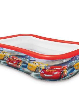 Детский надувной бассейн Intex 57478 Тачки