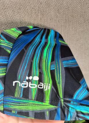Шапочка для плавания тканевая nabaiji