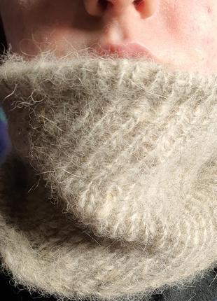 Баф шарф собачья шерсть