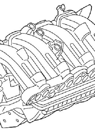 Коллектор впускной Chevrolet Volt 11-15 55593173