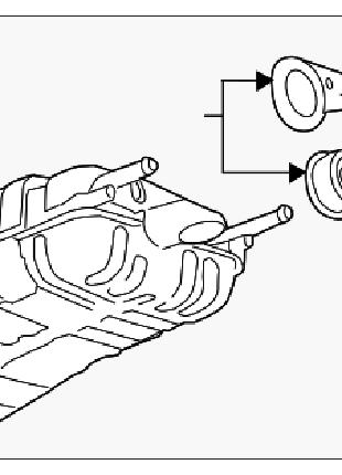 Глушитель задняя часть бочка Chevrolet Volt 11-15 22854624