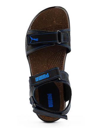 Мужские нубуковые сандали