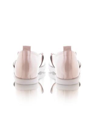 Женские балетки с открытым носком