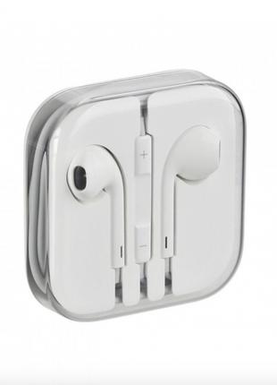 Наушники Apple Earpods 3.5 mm mini-jack White Original