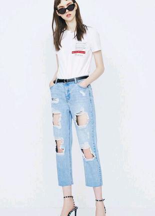 Джинсы новые / укороченые джинсы