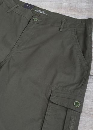 Мужские зелёные шорты
