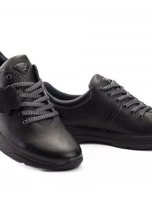 Подростковые кроссовки из натуральной кожи