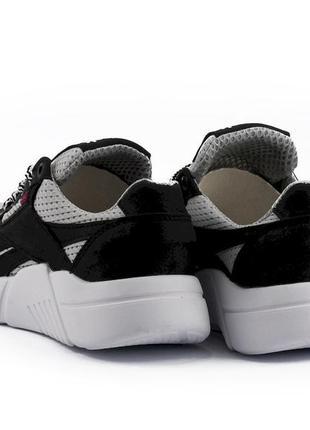 Подростковые кроссовки текстильные летние серые