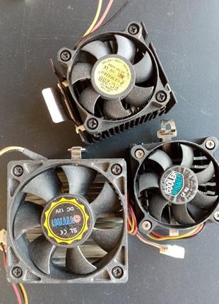 Лот Кулеры разные ( с плат mini-ITX)