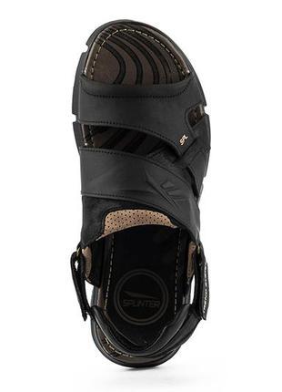 Мужские кожаные сандали