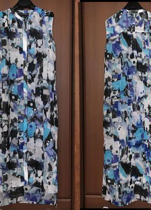 Рубашка платье миди макси с monki