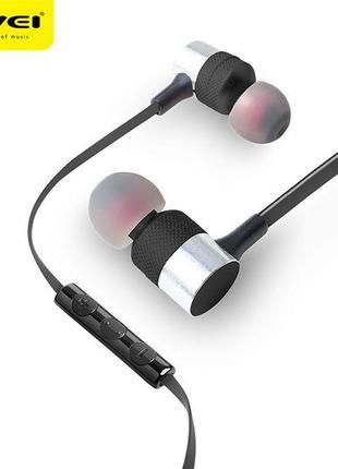 Наушники с микрофоном AWEI ES-20TY черные