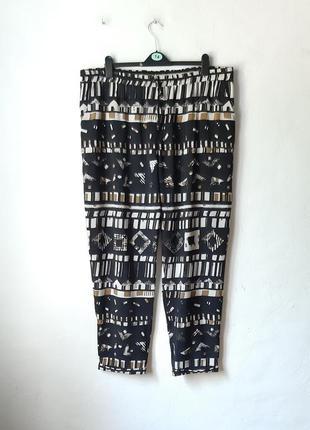 Летние брюки на резине
