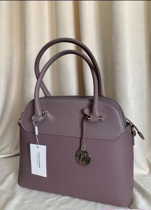 Розовая сумка david jones
