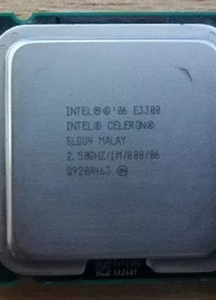 Процессор Intel Celeron E3300 2.5 GHz/ 1Mb/65W/ 800MHz LGA7