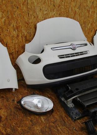 Запчасти с разборки на Fiat 500L бампер фары крылья капот