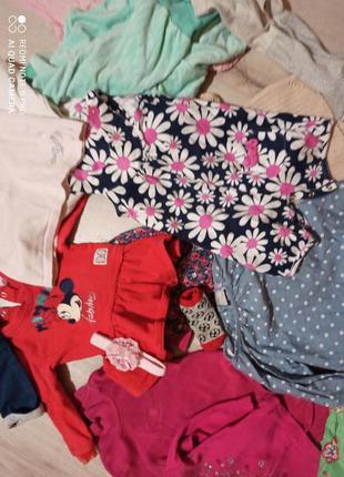 Пакет одягу до року дівчинці