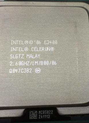 Процессор Intel Celeron E3400 2.6GHz 1Mb LGA 775
