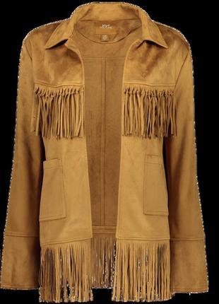!продам новый женский пиджак жакет накидку с бахромой