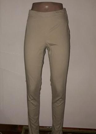 Летние брюки скинни h&m с высокой талией