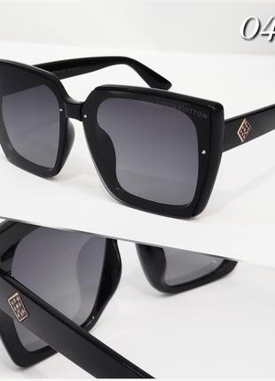 Женские очки черные с поляризацией