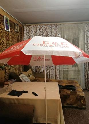 Продам пляжный зонт от солнца