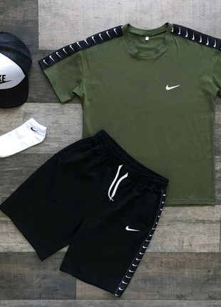 Летний комплект Nike  Футболка+шорты
