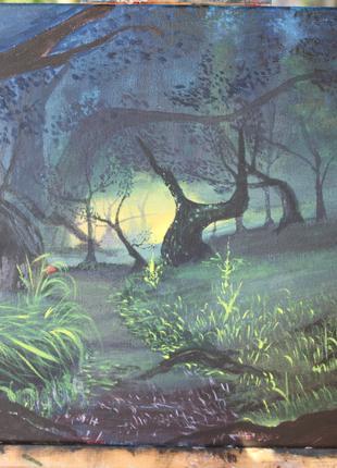 """Картина """"Сказочный лес"""""""