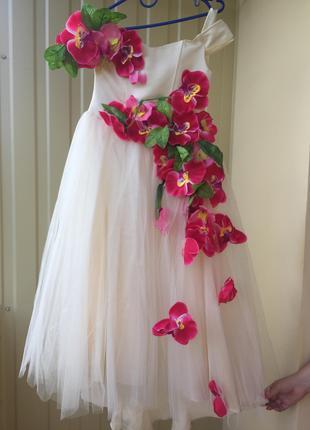бальное платье на девочку