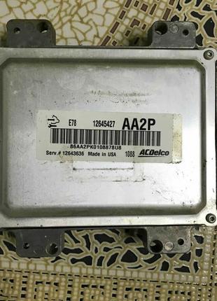 Блок управления двигателем двс Chevrolet Volt 11-15