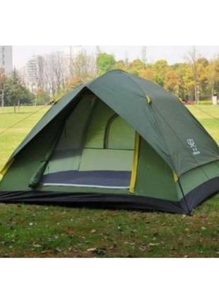 Палатка 8-ми местная Carco не автоматическая полиестеровая бол...