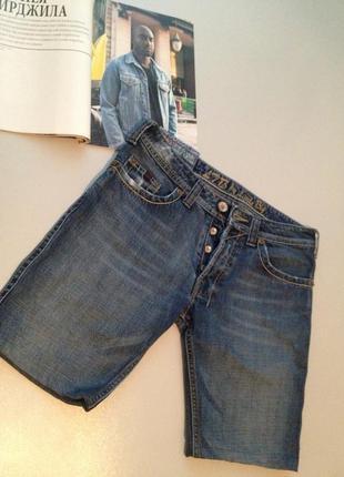 Джинсовые короткие шорты\003