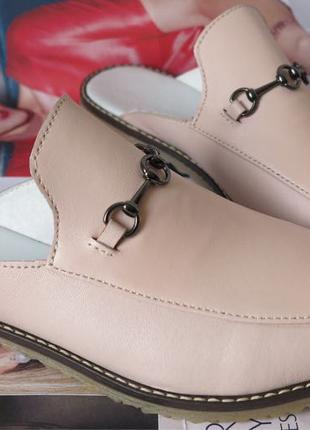 Мюли в стиле Gucci женские.! Сабо на низком ходу с закрытым носко