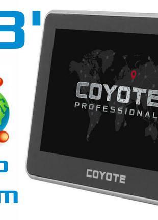 4.3 GPS НАВИГАТОР Coyote 428 Klein Навигация 2020 Гарантия! ЧЕХОЛ