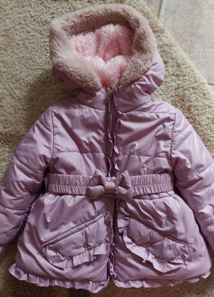 Куртка зимняя для девочки Одягайко