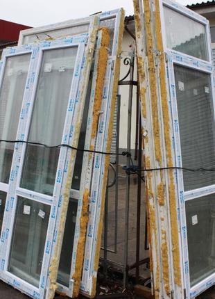 Металлопластиковые балконные двери и окна VIKNALAND FRAMEX REHAU
