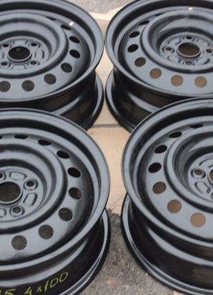 Стальные диски R15 4-100 dia 54 из Германии в идеальном состоянии