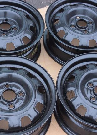 Стальные диски R14 4-100 dia 54 из Германии в идеальном состоянии