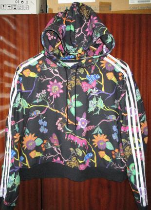 Укороченное худи Adidas