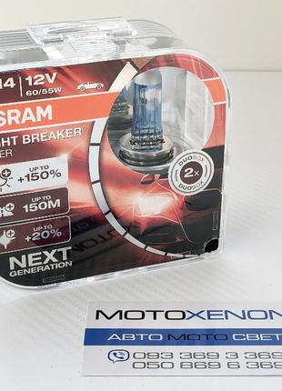 Лампы OSRAM Night Breaker LASER NEXTGEN +150% оригинал H1 H3 H...