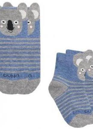 Носки для младенцев коала duna 6-12 месяцев 10-12 см стопа
