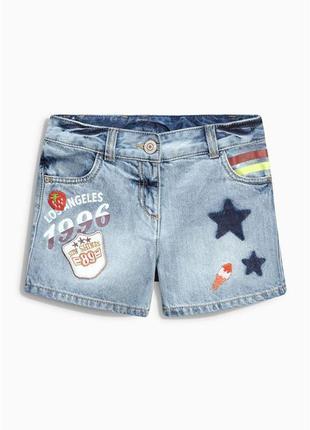 Шорты джинсовые next 11 лет