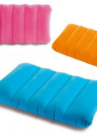 Подушка надувная Intex 43 х 28 х 9 см