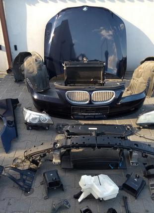 Запчасти с разборки для BMW E60 E61 фары бампер крылья