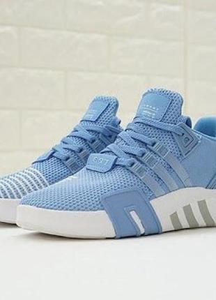 Кроссовки женские трендовые adidas eqt bask adv blue
