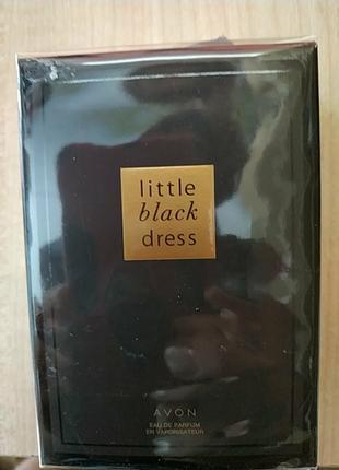 Парфюмированная вода Little black dress avon маленькое чёрное пла